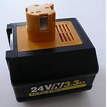 Titan--24V 3.3AH Ni-Mh Battery for Panasonic EY9210B EY9240 24 Volt Hammer Drill