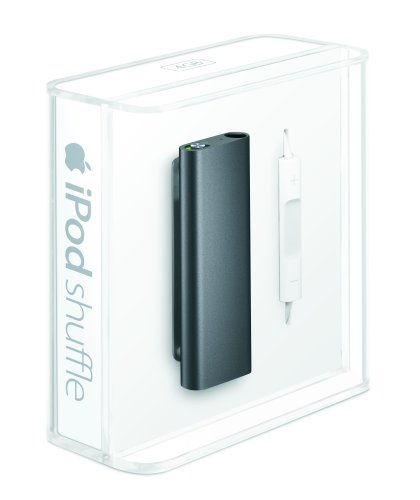 apple ipod shuffle 4 gb black 3rd generation. Black Bedroom Furniture Sets. Home Design Ideas