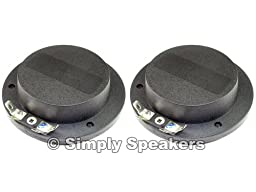 SS Audio Diaphragm for Yamaha JAY-2061, S-115, 16 Ohm, D-101AFT-16 (2 PACK)
