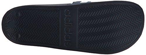 Adidas Neo Heren Cf Adilette Slide Sandaal Collegiaal Marine / Wit / Collegiaal Marine