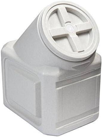 Vittles Vault Contenedor de comida para mascotas apilable herméticamente Warm Granite 40 Lbs 5