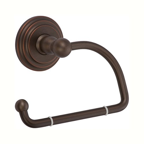 Ginger 1109/ORB Chelsea Hanging Toilet Tissue Holder, Oil Rubbed Bronze (Hand Relieved) (Ginger Double Toilet Chelsea)