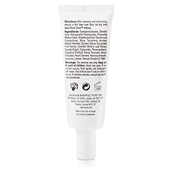 Sheer Cover Base Perfector Primer Helps Fill Fine Lines and Wrinkles for Makeup Application 1.25 Ounce
