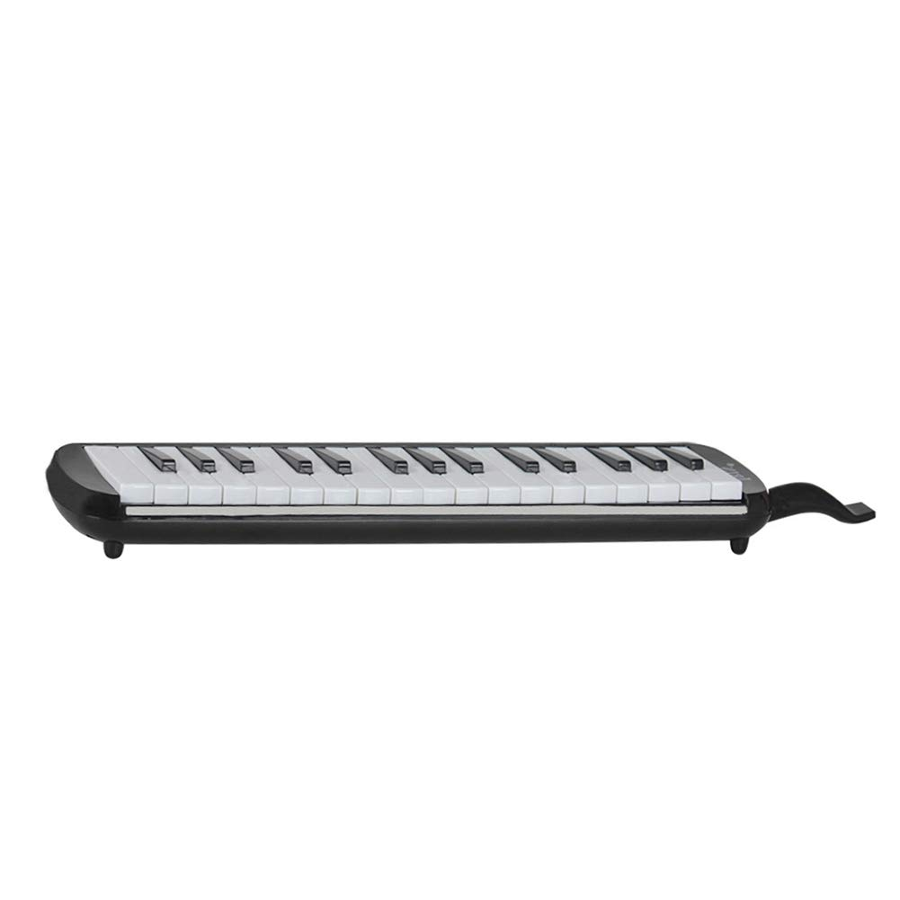 heaven2017 32 Key Melodica Mouth Organ Air Piano Keyboard Musical Instrument for Kids Students Black