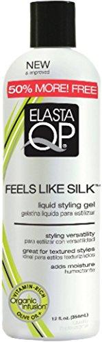 Elasta QP Feels Like Silk Liquid Styling Gel, 12 oz Pack of 6