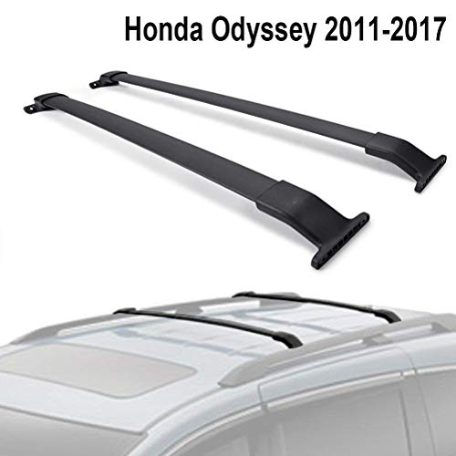 ALAVENTE Roof Rack Crossbars Compatible for Honda Odyssey 2011-2017 Cross Bars Roof Rail Luggage Carrier (Side Rails Needed)