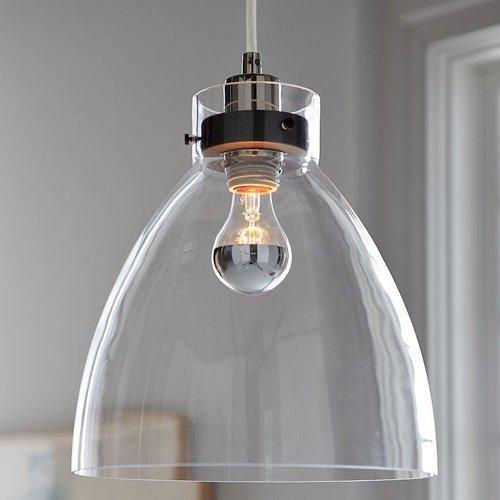 KJLARS Vintage Pendelleuchte Glas Hängelampe Retro Pendellampe Glaslampe Kronleuchter mit E27 Fassung leuchtmittel für esstisch, Restaurent,cafe, loft, wohnzimmer, club