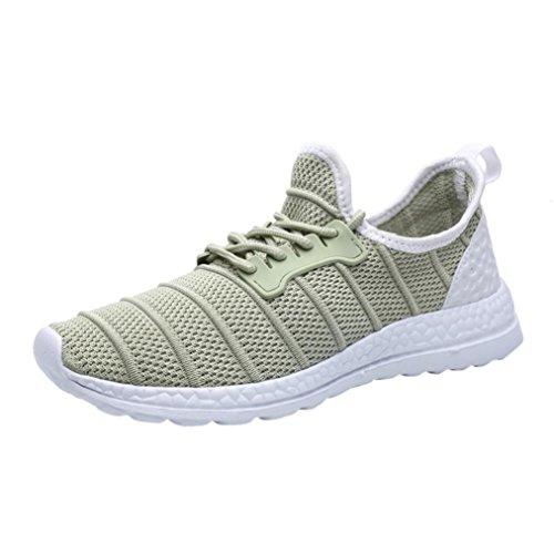 Uomo da Asia Donna Bianca 36 Nero Basse 40 Sportive UOMOGO Scarpe 47 Verde Grigio Sneakers Running dqtxdA