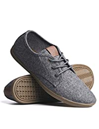 Blackwell Mens Isaac Canvas Casual Lace-Up Shoes