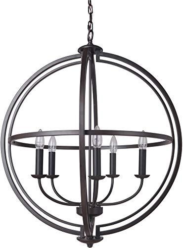 Craftmade 40135-ESP Five Light Foyer Pendant
