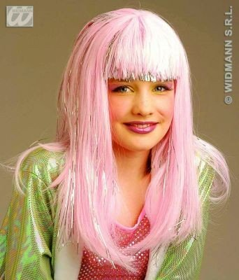 Dana Glamour Child Wig For Fancy Dress Costumes & Outfits ()