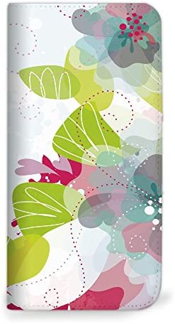 mitas iPhone6sPlus ケース 手帳型 ベルトなし 花 花柄 花がら フラワー ピンク (75) NB-0068-