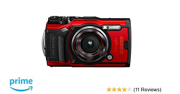 reputable site ca0fe 9d590 Olympus Tough TG-6 Waterproof Camera, Red