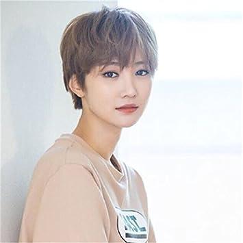 Amazon Com Women Girls Female Short Hair Short Hair Wig Handsome