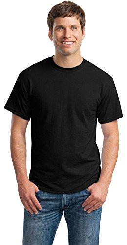 T-shirt Blend Polyester - Gildan Mens DryBlend 50 Cotton/50 Poly T-Shirt, 3XL, Black