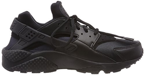 012 WMNS NIKE Huarache Femme Black Noir Les Formateurs Run Air Black vqdwqS
