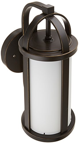 Progress Lighting P5631-20 Greetings Collection 1-Light Wall Lantern, Antique Bronze