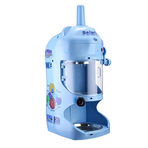 Great Northern Popcorn 83-NA6065 Northern Blue Hawaiian Shaver | 120V Electric Snow Cone Machine | Professional Polar Pal Ice Crusher Model with Safety Shield,