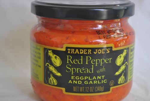 Roasted Eggplant Dip (Trader Joe's Red Pepper Spread with Eggplant and)