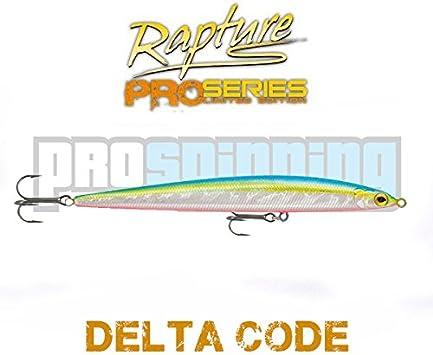 RAPTURE - DELTA CODE - Señuelo pesca - Spinning - paseante ...