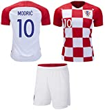 Best Soccer Jerseys - Croatia Modric #10 Soccer Jersey Youth World Cup Review