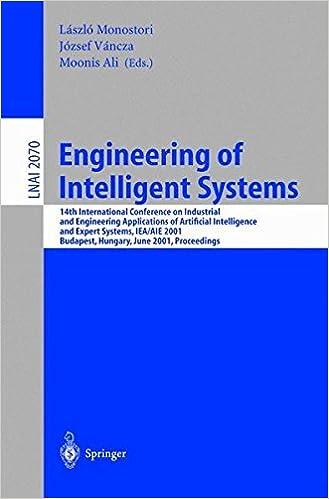 Engineering of Intelligent Systems: 14th International