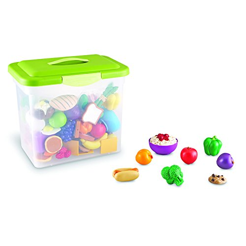 Learning Resources New Sprouts Classroom Play Food Set, 100
