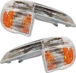 Prime Choice Auto Parts KAPFD30062A3PR Pair of Corner Parking Signal Marker Lights