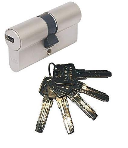 Cerradura de cilindro con 5 llaves ABUS EC550 35-35 mm