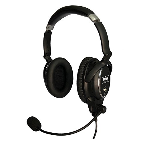 (UFQ A7 ANR Aviation Headset- Compare with QC25 Together with U Fly Mike A7 Could be a Small Version XXXX XXX BUT More Comfortable Clear Communication Great Sound Quality for Music with MP3 Input )