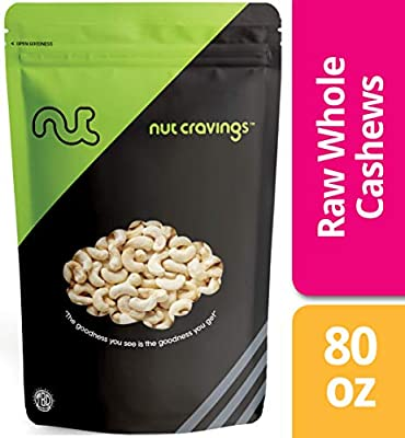 Nut Cravings Raw Whole Cashews Parant