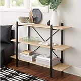 Mainstay 34' Conrad 3 Shelf Bookcase, Black