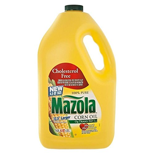 Mazola Cholesterol Free Corn Oil, 1 Gallon