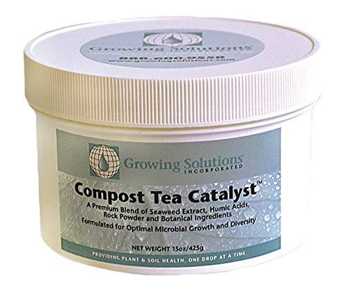 (Growing Solutions Compost Tea Catalyst, 15 oz )
