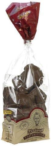 Figurines Creuses Tonkeys Faites De Chocolat Au Lait Cadeau De La Belgique Vers Saint Nicolas Et De Noel Amazon Fr Epicerie
