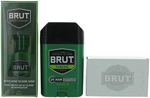Brüt Classic by Brüt 3 Piece Gift Set for Men