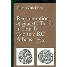 Renumeration of State Officials in Fourth Century B.C. Athens