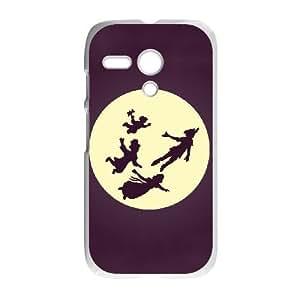 Motorola G Cell Phone Case White Peter Pan KCN Plastic 3D Phone Case