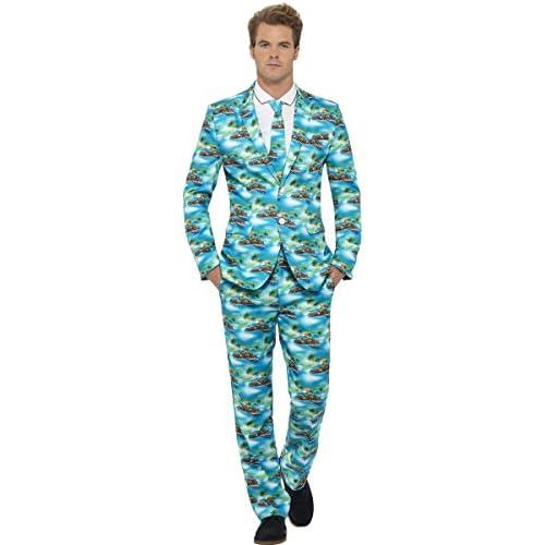chollos oferta descuentos barato Smiffys Aloha Traje destacan Trajes Adultas Disfraz Medium 48 50