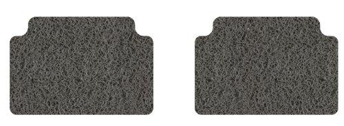 Plymouth Fury Iii Carpet - Intro-Tech Spaghetti Second Row Custom Floor Mats for Select Dodge Coronet / Fury Models - PVC (Gray)