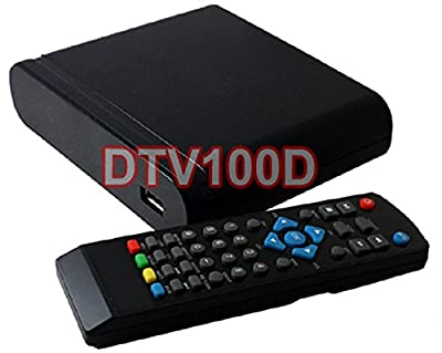 Digital Converter TV Box with DVR recording function, Digital to Analog TV, ATSC Receiver, Channel 3/4, HDMI, USB