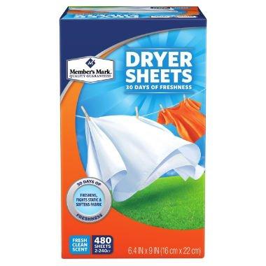 Member's Mark Fabric Softener Sheets