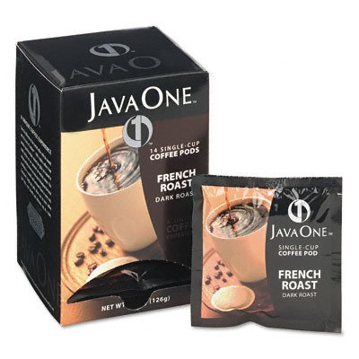 Coffee Pods French Roast Single Cup (14 Single Serve Coffee Pods)