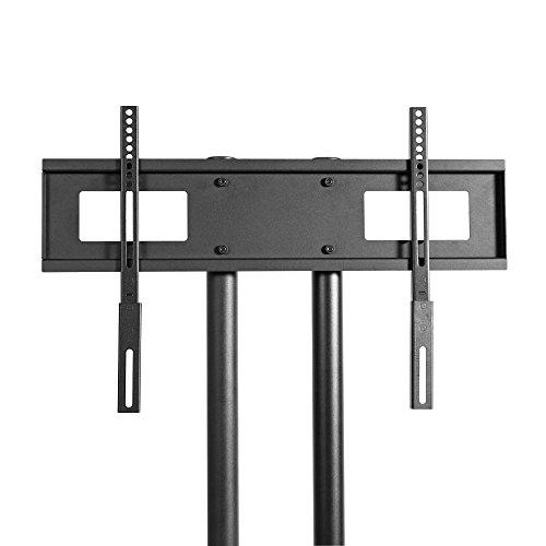 kanto mtm55 mobile tv stand with mount for 32 to 55 inch flat panel screens black buy online. Black Bedroom Furniture Sets. Home Design Ideas