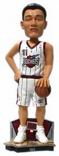 "Rockets Yao Ming #11 Stadium Base Bobblehead ""Legends of the Court"" #/5,000"