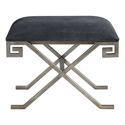 Liddell Indigo Blue Small Bench by Vhomes Lights
