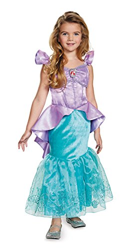 Ariel Prestige Disney Princess The Little Mermaid Costume, X-Small/3T-4T, One Color
