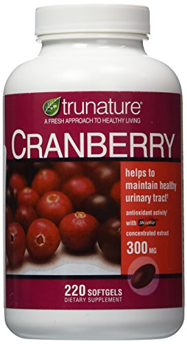 TruNature Cranberry 300 mg with Shanstar Concentrated Extract - 220 (300 Mg Softgels)
