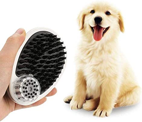MLQ Haustierbad Silikonmaus Massagebürste Mausförmige Haustierbürste Duschgel Verdünnte Massagebürste Shampooing und Massage Hunde und Katzen Abnehmbarer Waschkamm