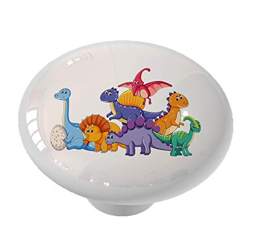 (Dinosaur Pals Drawer/Cabinet Knob by Gotham Decor)